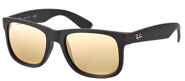 Ray-Ban Justin RB 4165 Square Rubber Sunglasses