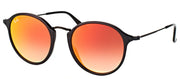 Ray-Ban 2447 Gradient Mirror Round Sunglasses