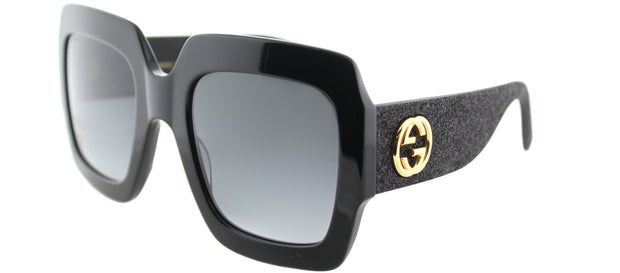 Gucci GG 0102S Rectangle Sunglasses