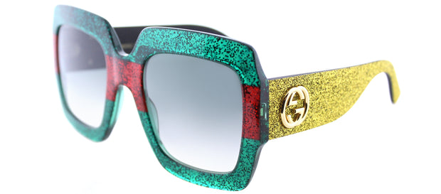 Gucci GG 0102S Square Sunglasses