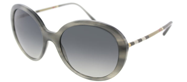 Burberry BE 4239Q Round Sunglasses
