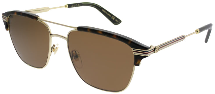 Gucci GG 0241S Rectangle Sunglasses