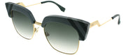 Fendi Waves FF 0241 Square Sunglasses