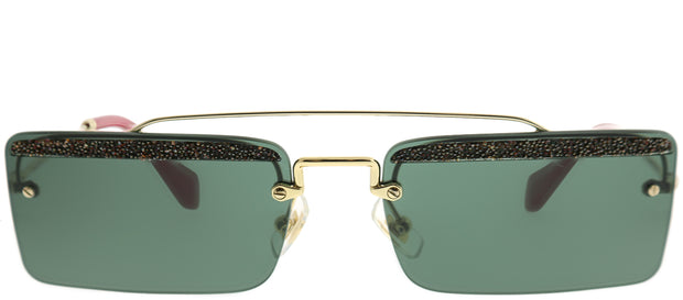 Miu Miu MU 59TS Rectangle Sunglasses