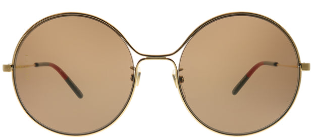 Gucci GG 0395S 002 Round Metal Sunglasses