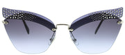 MIU MIU MU 56TS Cat-Eye Sunglasses