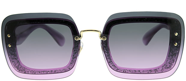 Miu Miu Special Project MU 01RS Square Sunglasses
