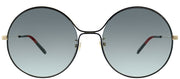 Gucci GG 0395S 001 Round Metal Sunglasses