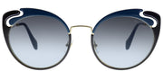 Miu Miu Core Collection MU 57TS Butterfly Sunglasses