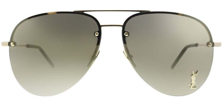 Saint Laurent SL Classic11M 004 Aviator Sunglasses