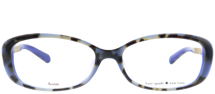 Kate Spade Low Bridge Fit Amaris/F Oval Eyeglasses