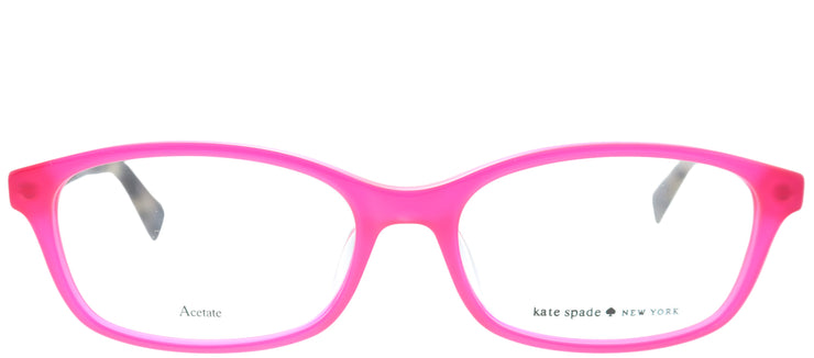 Kate Spade Low Bridge Fit Jacy/F Rectangle Eyeglasses