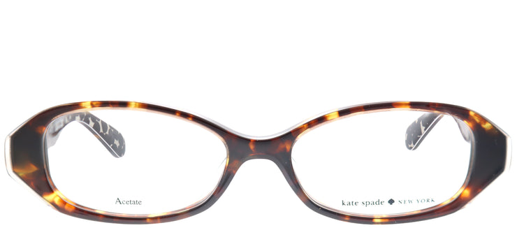 Kate Spade Low Bridge Fit Lisann/F Oval Eyeglasses