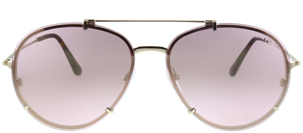 Tom Ford 0527 Dickon Aviator Sunglasses