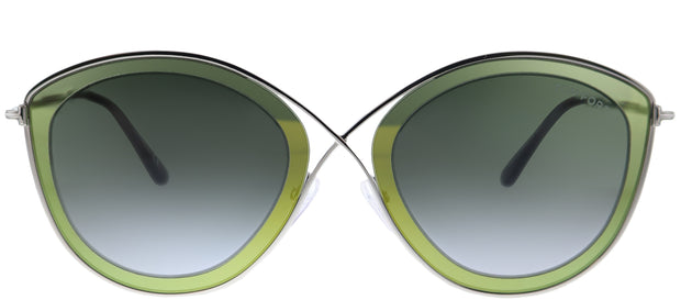 Tom Ford Sascha-02 TF 604 Cat-Eye Sunglasses