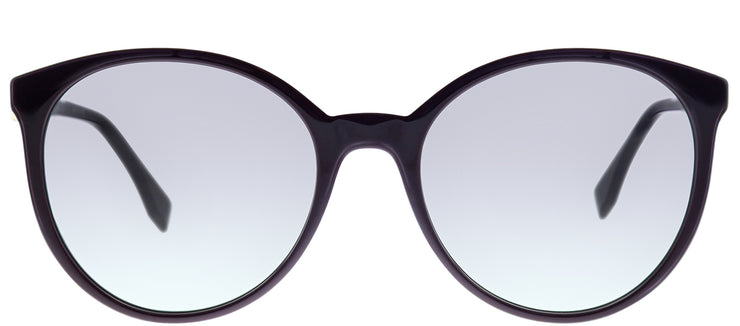 Fendi FF 0288 0T7 9O Purple Round Plastic Sunglasses