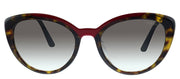 Prada Low Bridge Fit PR 02VSF Cat-Eye Sunglasses