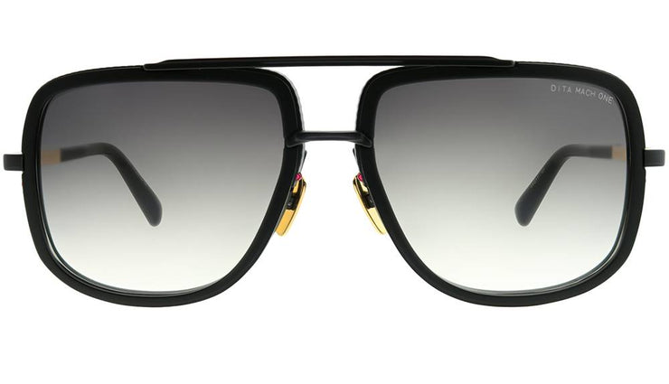 Dita DRX-2030 G-BLK-18K Mach-One Aviator Sunglasses