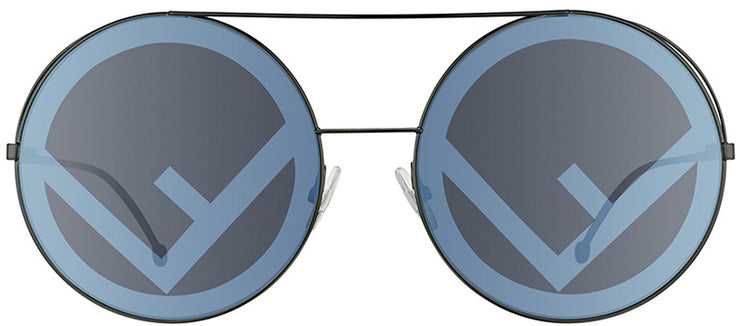 Fendi FF 0285 807 Round Sunglasses