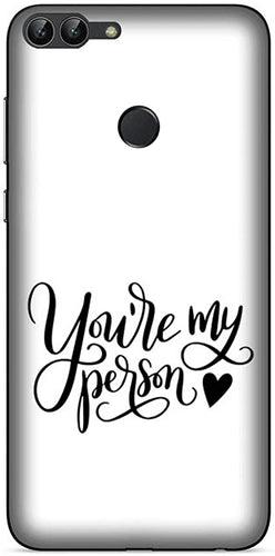 Cover Rigida Huawei P Smart 2019 Best Friends Tu Sei La Mia Persona Con  Sfondo B