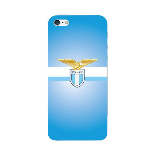 COVER CUSTODIA RIGIDA STAMPA SQUADRA LAZIO 3 IPHONE 5 E 5S