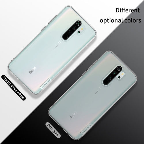 Nillkin Nature Clear TPU Soft Case Cover for Xiaomi Redmi Note 8 Pro
