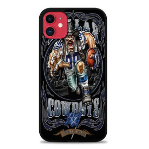 Custodia Cover iphone 11 pro max Dallas cowboy Animation S0083 Case
