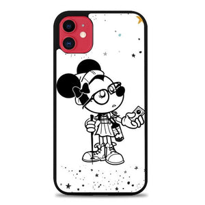 Custodia Cover iphone 11 pro max Hipster Hiker Minie S0149 Case