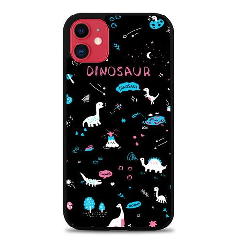 Custodia Cover iphone 11 pro max Dinosaurus Art S0432 Case