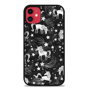 Custodia Cover iphone 11 pro max Uniqorn in the Galaxy Star S0477 Case
