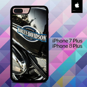 Custodia Cover iphone 7 plus 8 plus Harley Davidson Motocyrcle O0920 Case