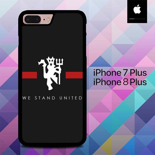 Custodia Cover iphone 7 plus 8 plus We Stand United O1006 Case