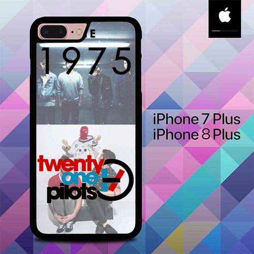 Custodia Cover iphone 7 plus 8 plus 21pilots and the O3111 Case