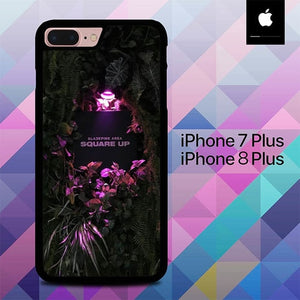 Custodia Cover iphone 7 plus 8 plus Blackpink Square Up O5065 Case