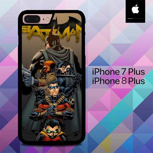 Custodia Cover iphone 7 plus 8 plus Batman and Robin Team O0652 Case