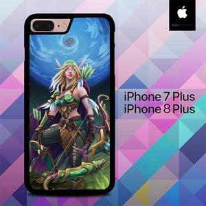 Custodia Cover iphone 7 plus 8 plus World of Warcraft O6553 Case