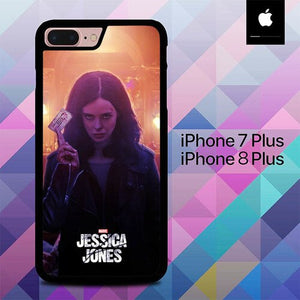 Custodia Cover iphone 7 plus 8 plus Marvel Jessica Jones O6596 Case