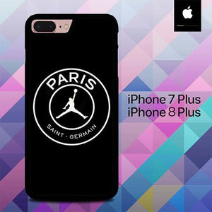 Custodia Cover iphone 7 plus 8 plus Paris Saint German Jordan O6799 Case