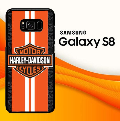 Custodia Cover samsung galaxy s8 s8 edge plus Harley Davidson Racing Stripes O6861 Case