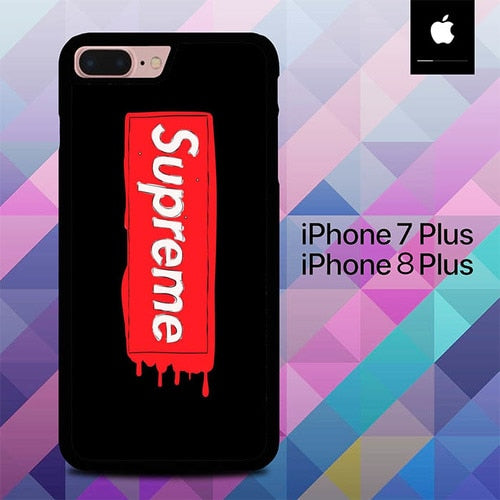 Custodia Cover iphone 7 plus 8 plus Supreme O7035 Case