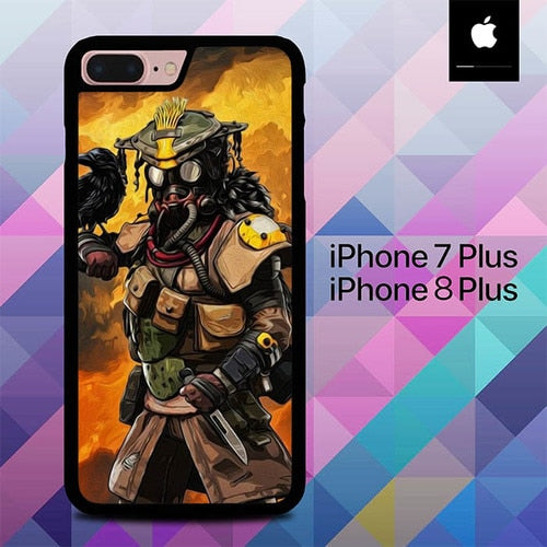 Custodia Cover iphone 7 plus 8 plus Apex Legends Fire O7102 Case