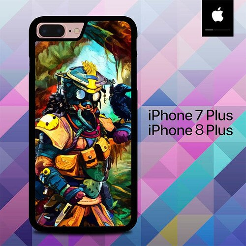 Custodia Cover iphone 7 plus 8 plus Apex Legends Colourful Character O7104 Case