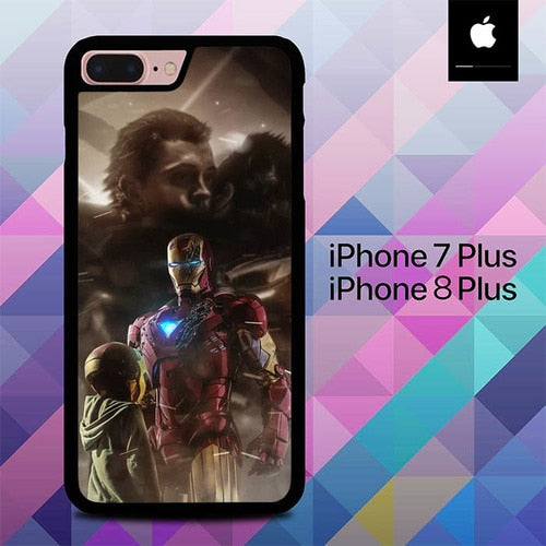 Custodia Cover iphone 7 plus 8 plus Avenger End Game Marvel O7212 Case
