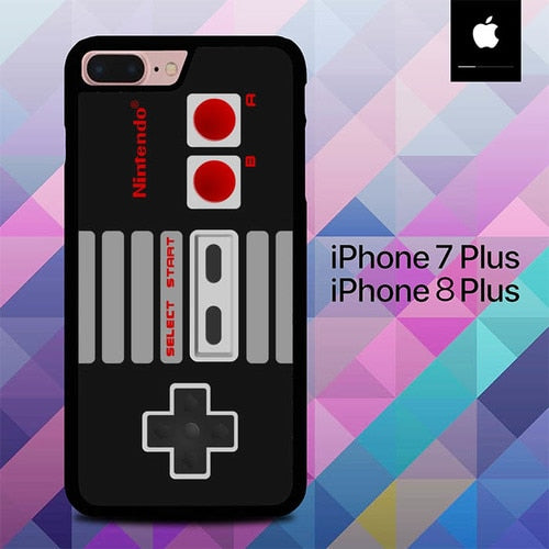 Custodia Cover iphone 7 plus 8 plus Classic Nintendo Controller O7476 Case