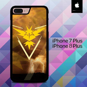 Custodia Cover iphone 7 plus 8 plus Pokemon GO Wallpaper O7478 Case