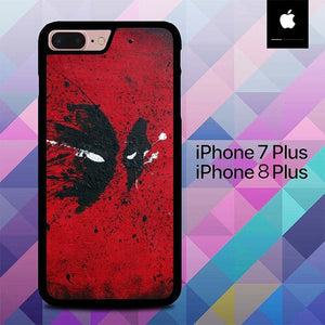 Custodia Cover iphone 7 plus 8 plus Deadpool Mask O7484 Case