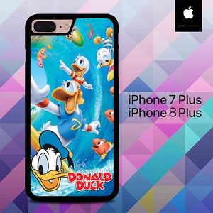 Custodia Cover iphone 7 plus 8 plus Donald Duck O7508 Case