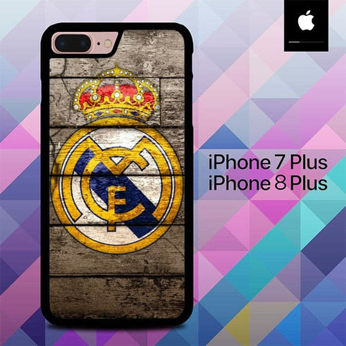 Custodia Cover iphone 7 plus 8 plus Real Madrid O7509 Case