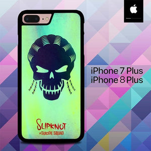 Custodia Cover iphone 7 plus 8 plus Slipknot in Suicide Squad O7517 Case