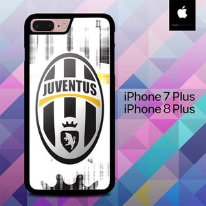 Custodia Cover iphone 7 plus 8 plus Juventus O7632 Case
